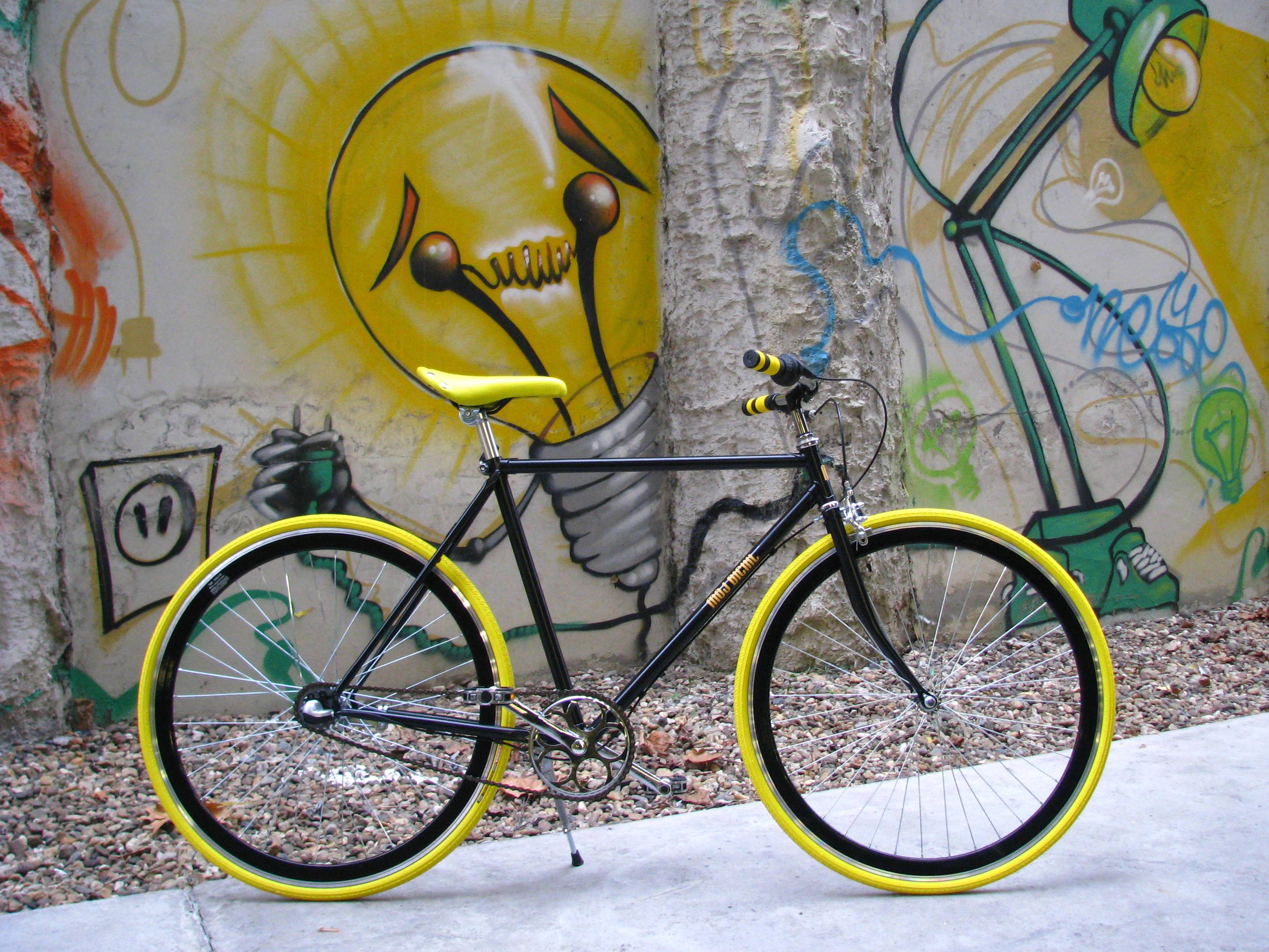 custom made bicycle